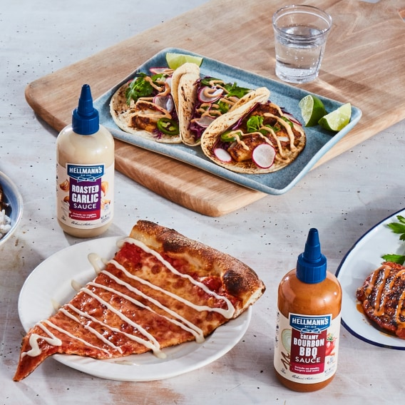 New Hellmanns Drizzle Sauces