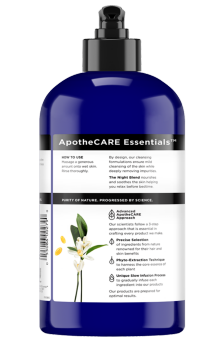 Back of body wash ApotheCARE Essentials™ The Night Body Wash Neroli 16oz