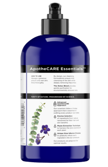 Back of body wash ApotheCARE Essentials™ The Detox Body Wash Eucalyptus 16oz