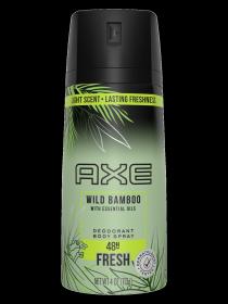 axe bamboo spray wild deodorant ocean oils essential hover