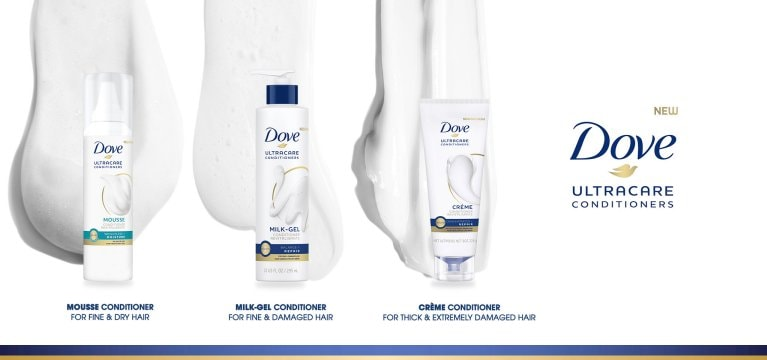 Dove UltraCare Conditioner Series