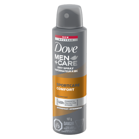 Dove Men+Care SportCare Comfort Dry Spray Antiperspirant 3.8 oz back