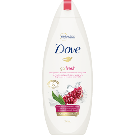 Go Fresh Revive Pomegranate & Lemon Verbena Body Wash 354ml