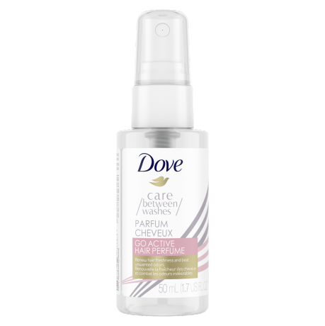Perfume para el cabello Dove Care Between Washes Go Active 1.69 oz