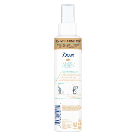 Dove Care Between Washes Re-Hydrating Mist 6.1 oz