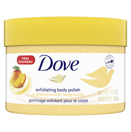 Dove Exfoliating Body Polish Crushed Almond and Mango Butter