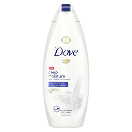 Dove Deep Moisture Body Wash 22 oz