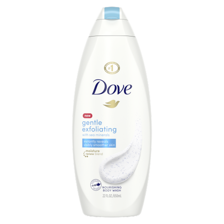 Dove Gentle Exfoliating Body Wash 22 oz