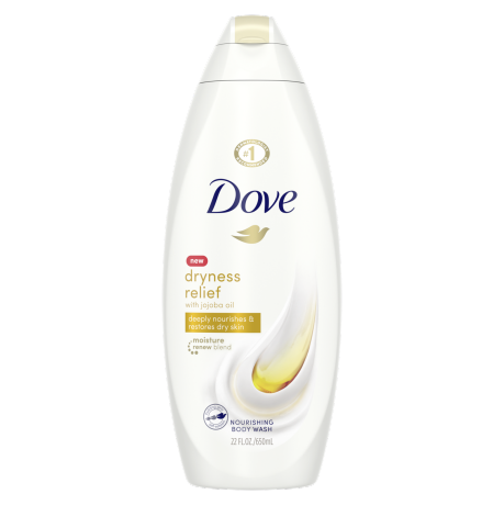 Dove Dry Oil Moisture Body Wash 22 oz