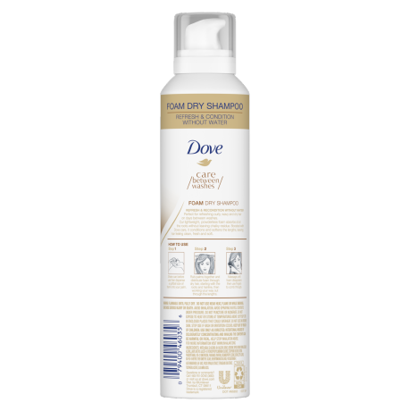 Dove Care Between Washes Foam Dry Shampoo 6.8 oz