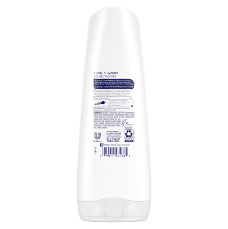 Dove Nutritive Solutions Clarify & Hydrate Conditioner 12z