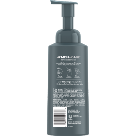 Men+Care Deep Clean Foaming Body Wash 13.5 oz