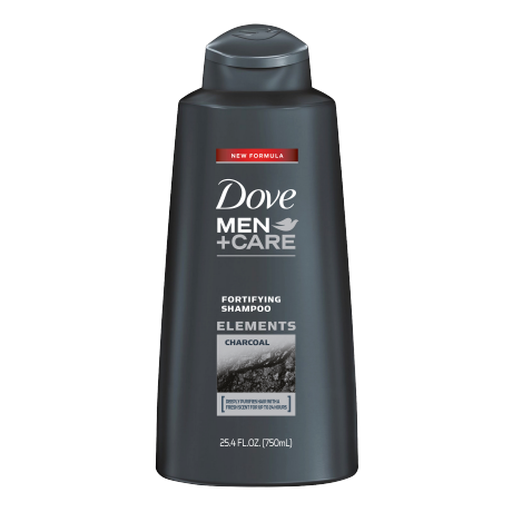 Dove Men+Care Charcoal Fortifying Champú 25.4oz