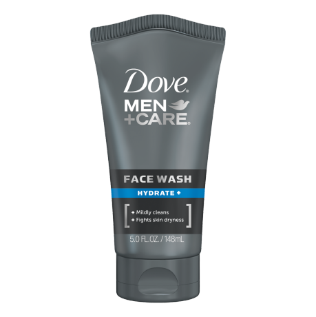 Dove Men+Care Hydrate+ Face Wash 5 oz.