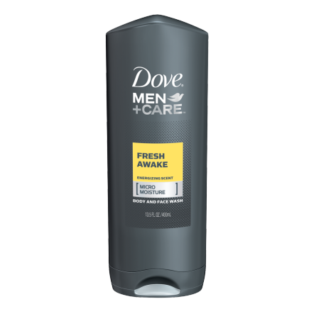 Dove Men+Care Fresh Awake Body and Face Wash 13.5 oz