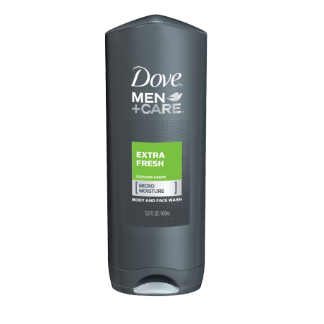 Dove Men+Care Extra Fresh Body and Face Wash 13.5 oz