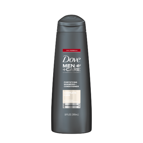 Dove Men+Care Complete Care 2-in-1 Shampoo 12 oz.