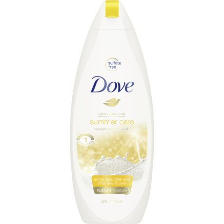 Dove Summer Care Body Wash 22 oz