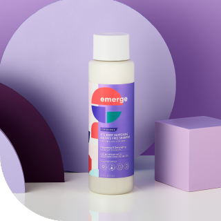 emerge it's knot happening sulfate free shampoo