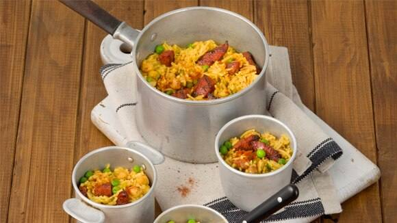 Spanish Chorizo & Bean Rice