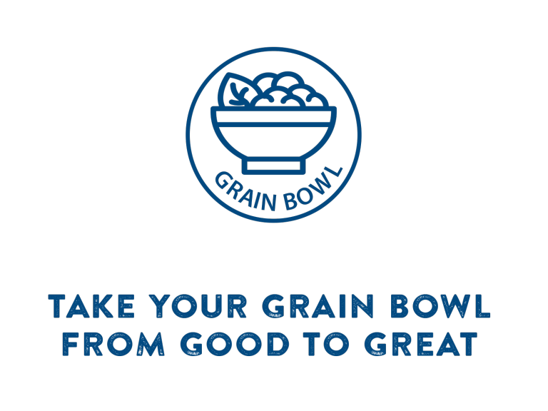 Take your grain bowl from good to great