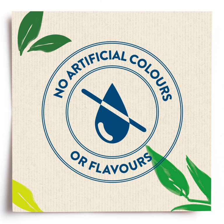 no artificial colours or flavours