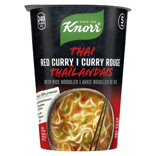 Knorr® Thai Curry Rice Noodle Cup