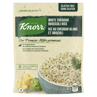 Selects White Cheddar Broccoli Rice side dish