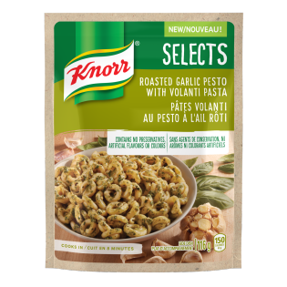 Selects Roasted Garlic Pesto with Volanti Pasta