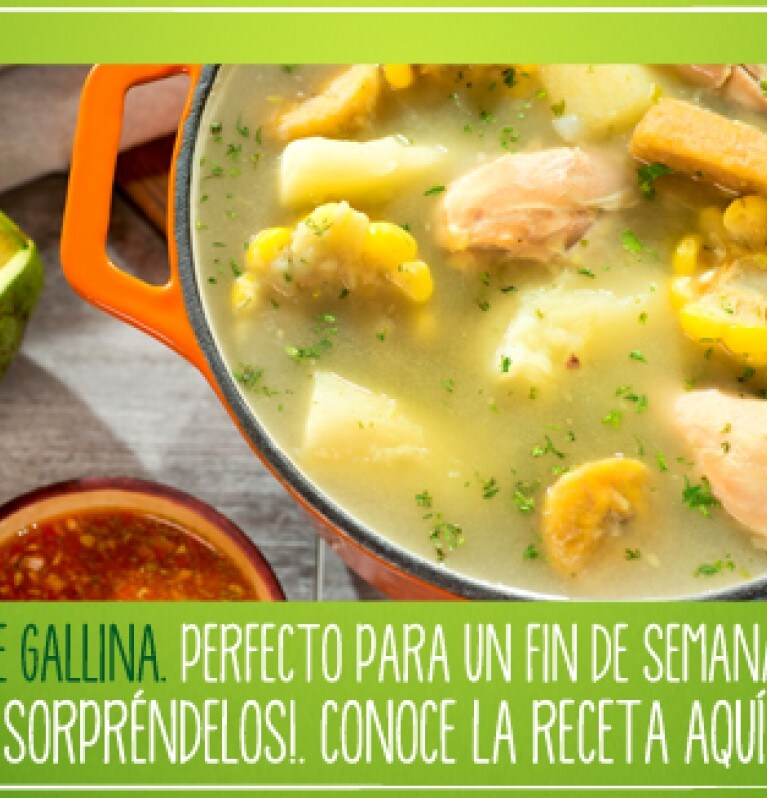 video sancocho de gallina