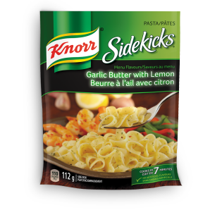 Sidekicks Menu Flavours Garlic Butter with Lemon