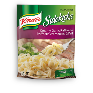 Sidekicks Creamy Garlic Raffaello Pasta Side