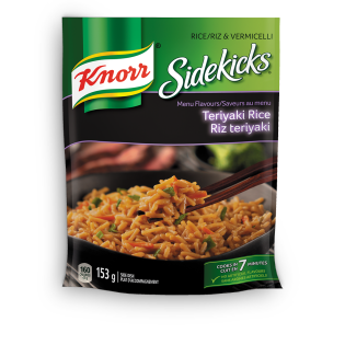Sidekicks Menu Flavours Teriyaki Rice