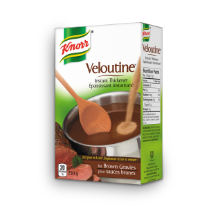 Veloutine Instant Thickener for Brown Gravies