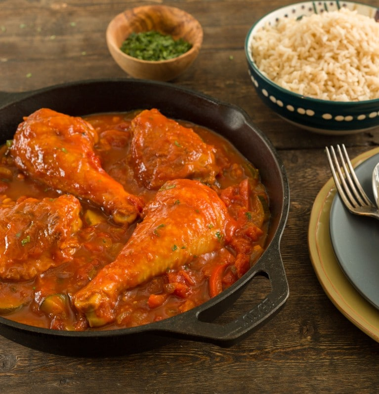 Stewed Chicken Pollo Guisado