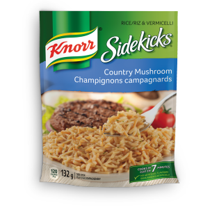 Sidekicks Country Mushroom Rice & Pasta Side