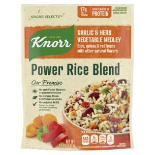 Power Rice Blend Garlic & Herb Vegetable Medley