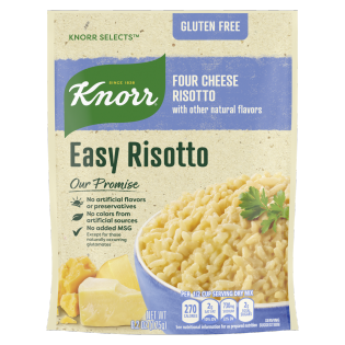 Easy Risotto Four Cheese Risotto