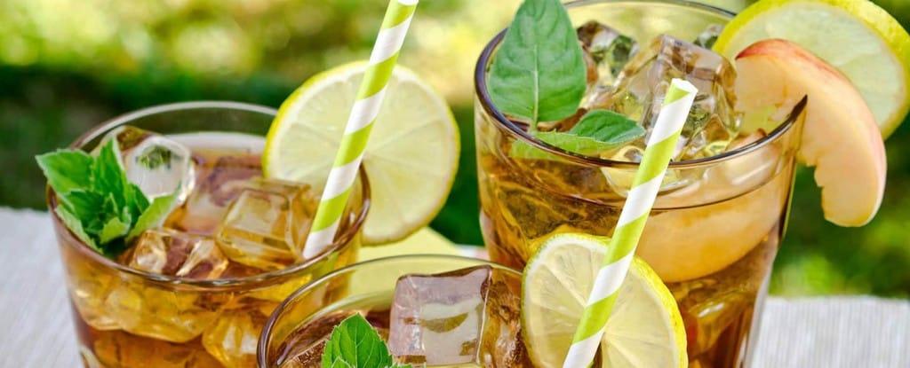 Green Iced Tea How To