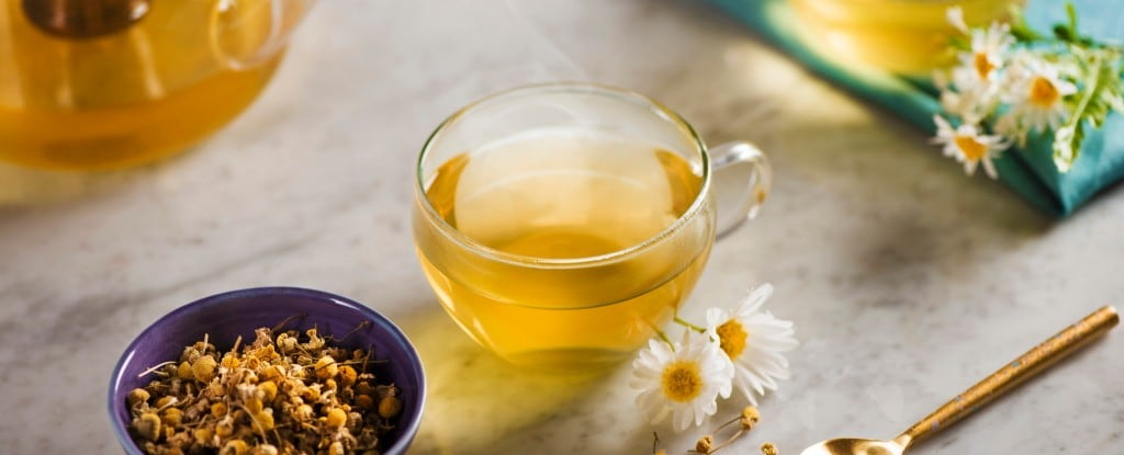 SIP AND SOOTHE WITH CHAMOMILE TEA