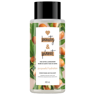 Image de l'emballage de Shea Butter & Sandalwood Conditioner de Love Beauty & Planet