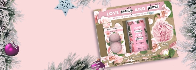 Celebrate the Holidays Sustainably with Love Beauty and Planet