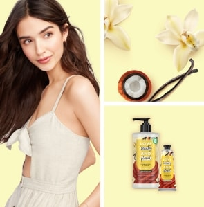 Tucuma and Vanilla Love Beauty and Planet Products