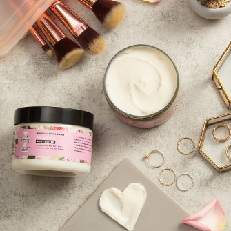 Love Beauty and Planet Murumuru Butter & Rose Body Butter Lifestyle Image