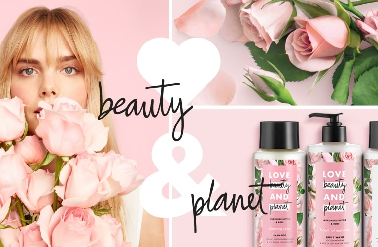 Productos y modelos de Love Beauty and Planet