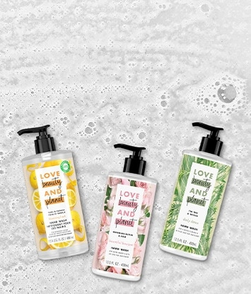 Love Beauty and Planet Liquid Hand Soap Range