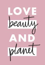 Love Beauty and Planet Logo