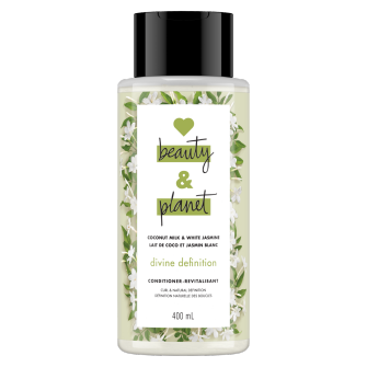 Image de l'emballage du Coconut Milk & White Jasmine Conditionner de Love Beauty & Planet