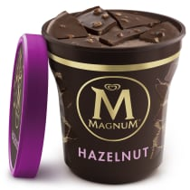 Milk Chocolate Hazelnut Ice Cream Tub | Magnum