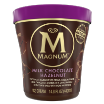 PNG - Magnum Ice Cream Milk Chocolate Hazelnut 14.8 oz